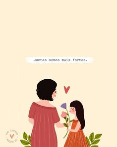 A imagem pode conter: uma ou mais pessoas e texto We Can Do It, Just The Way, Simply Quotes, Strong Girls, Quote Posters, Cute Wallpapers, Art Quotes, Art For Kids, Character Design