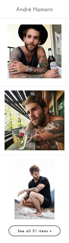 """""""André Hamann"""" by giprevedabr ❤ liked on Polyvore featuring andre hamann, models, instagram, instagram worthy, boys, role play and andre"""