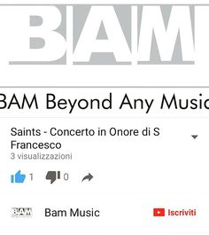 https://youtu.be/Y02ntuqC7iY  Follow our New Youtube Channel! New Video to announce The Event in memory of San Francesco 🔜 #Youtube #FollowUs #Watchit