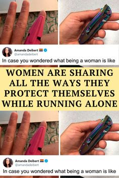 Running can be a peaceful and reflective time to clear your head – but if you're a woman these peaceful thoughts can easily be interrupted by hyper-vigilance for personal safety. Amanda Deibert, a writer for TV and comic books,
