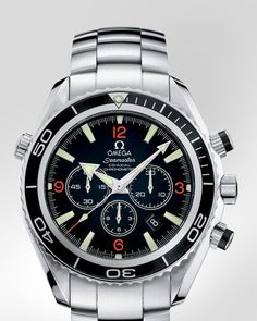 OMEGA Watches: Seamaster Planet Ocean Chrono - Steel on steel - 2210.51.00