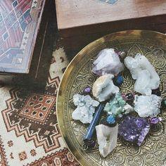 "priya-yoga: "" Beautiful large raw crystals """