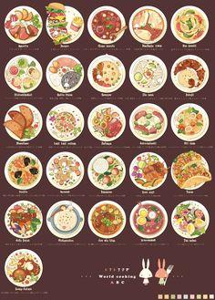 anime and food image Cute Food Drawings, Japon Illustration, Photo Illustration, Food Sketch, Food Painting, Think Food, Food Journal, Logo Food, Aesthetic Food