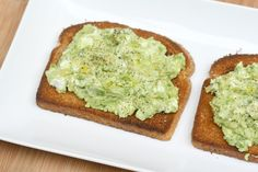 Avocado-Goat Cheese Toast
