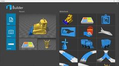 3D Builder by Microsoft. Simple 3D modeller, viewer and editor. Note: it may already be installed on your computer depending on the version of Windows you have.