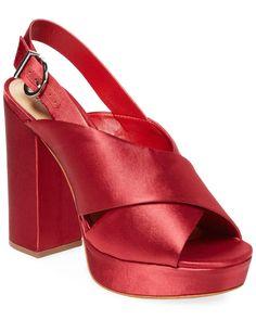 71026da62549 Schutz Millie Satin Platform Sandal  fashion  clothing  shoes  accessories   womensshoes