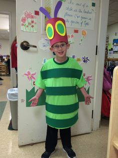 My Very Hungry Caterpillar!! Dress up as a book character at school today!