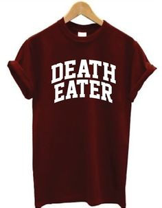Death Eater Shirt Harry Potter Shirt by JadeTees on Etsy