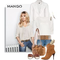 Fashion in Motion with MANGO & Kate Moss, created by paint-it-black on Polyvore