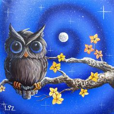 night owl by Elizabeth Letourneau