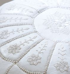 White on white embroidery! Love the subltety.