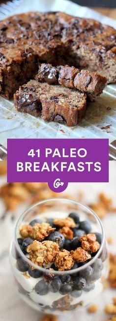 41 Paleo Breakfasts That Aren't Eggs #paleo #breakfast #recipes http://greatist.com/eat/paleo-breakfast-recipes