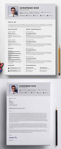 Professional Single Page Resume