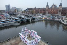 """House of Cards, Amsterdam light festival 2015.  House of Cards - Amsterdam (making of)Installation by OGE Creative Group This year the Oge Creative Group invited me to create some of the cards for their installation """"House of cards"""", during the Amsterdam light festival. 27/11/2014-18/01/2015 #streetart #noumeda #installation #Amsterdam light festival #ogegroup"""