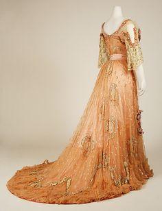 French Silk Ballgown, 1900-1903