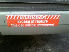 Funny Christian Bumper Stickers | For the most part the Christian bumper sticker industry has dried up ...