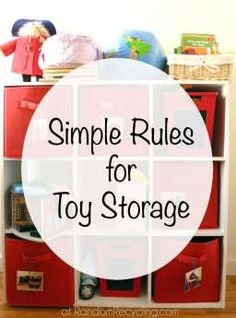 Simple Rules for Toy Storage-and a surprising new favorite organizing book.