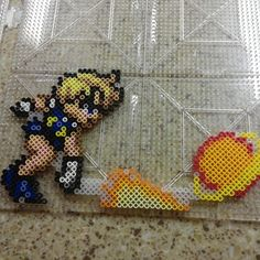 Sailor Uranus perler beads by b.dawg.skip