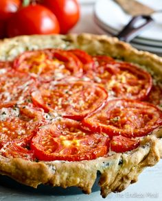 Goat Cheese and Tomato Tart with Rosemary and Mascarpone SAVE FOR LATER! This Goat Cheese and Tomato Tart with Rosemary and Mascarpone is an easy to make recipe that should be on everyone's summer menu. Veggie Recipes, Cooking Recipes, Healthy Recipes, Recipes With Goat Cheese, Summer Vegetarian Recipes, Goat Recipes, Carrot Recipes, Quiche Recipes, Crockpot Recipes