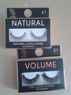 False Eyelashes from Primark (£1 each). I normally have two pairs, a natural pair for everyday and a volume pair for nights outs. These are super cheap, last all day and can be re-worn about 4 times, but even if you're throwing them away a couple of times a month you can't complain for £1! #falsies #fakingit