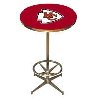 Kansas City Chiefs Pub Table: Show your team spirit with the NFL Official Licensed Pub… #IceHockeyStore #IceHockeyShop #IceHockeyJerseys