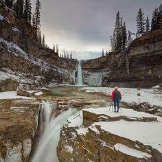 Instagram Photo: Crescent Falls, Alberta, Canada