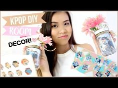 KPOP DIY ROOM DECOR Must Try!!   OnlyKelly - YouTube