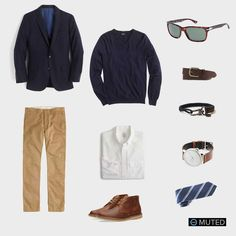 ** MENS OUTFIT IDEAS #78 ** There's a lot going on here, but it's well worth it. This outfit iss perfect for afall Friday night work day, when you're planning on heading out to...