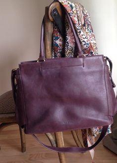 À vendre sur #vintedfrance ! http://www.vinted.fr/sacs-femmes/sacs-a-main/48776818-sac-a-main-en-cuir-nat-et-nin