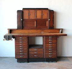 Mid Century Vintage Antique Industrial di onemanstrashlasvegas, $4999.00