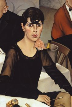 Christian Schad ''Sonja'' 1928 Neue Sachlichkeit