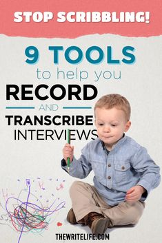Record your calls, THEN transcribe them with this list of handy tools for writers.