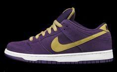 Nike SB Dunk Low  Quasar Purple/Gold  2012