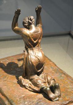 Profonde pensée (1898-1905) par Camille CLAUDEL (1864-1943) - Un des dix chef-modèles à clavette de la 3è version - Musée Sainte-Croix de Poitiers - Photo Hervé Leyrit