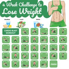 Workout Challenge Discover 30 Day Fitness Transform your body in one month Fitness Workouts, Fitness Herausforderungen, Gym Workout Tips, Fitness Workout For Women, Workout Challenge, Fitness Motivation, Body Workout At Home, At Home Workout Plan, At Home Workouts
