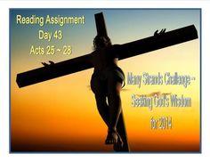 Seeking God's Wisdom - Day 43