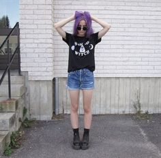 "The magical @aliencreature rocking the ""Son Of A Witch"" Tee by Kult. www.tibbsandbones.com"