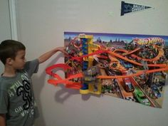 Hot Wheels Wall Tracks Power Tower set - great toy for boys ages 5 to 10.