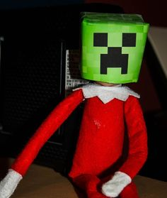 Elf on the shelf Minecraft