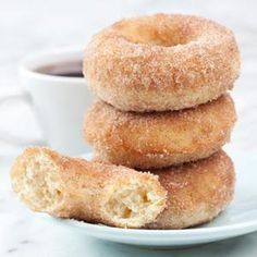 Baking: Stonewall Kitchen Cinnamon Sugar Doughnut Mix