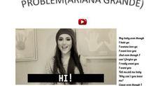 """presentazione canzone """"Problem"""" di Ariana Grande su google drive"""