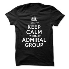 Admiral Group Tee 【 Just released for any people who work at Admiral Group.Admiral Group Tee