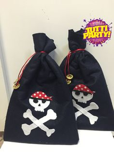 Pirate Party favor bag, Party favor pirate Party ideas, dulceros de piratas…