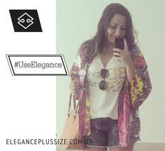Shorts Elegance Plus Size Coloque em suas fotos #UseElegance