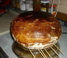 Czech Recipes, Ham, Food And Drink, Pudding, Healthy Recipes, Pizza, Baking, Desserts, Detail