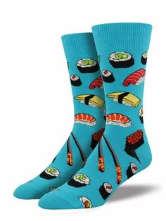 Turquoise 4-10.5 Large Hot Sox Womens Classic Dogs Crew Socks