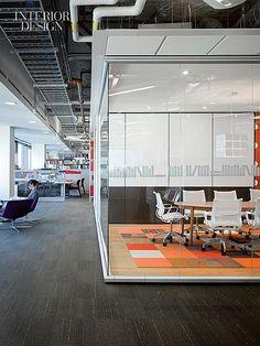 The Small Screen Goes Big: Corus Entertainment Toronto Headquarters by Quadrangle Architects | Projects | Interior Design