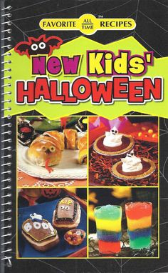 NEW KIDS HALLOWEEN Cookbook RECIPES New SNACKS Treats DRINKS Goodies FOOD