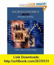 Microeconomics Principles and Policy (9780538453622) William J. Baumol, Alan S. Blinder , ISBN-10: 0538453621  , ISBN-13: 978-0538453622 ,  , tutorials , pdf , ebook , torrent , downloads , rapidshare , filesonic , hotfile , megaupload , fileserve