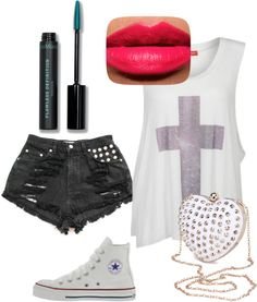 A fashion look from January 2013 featuring white tank, high-rise shorts and handbag purse. Browse and shop related looks. High Rise Shorts, White Tank, Fashion Looks, Polyvore, Summer, Image, Shopping, Summer Time, High Waisted Shorts